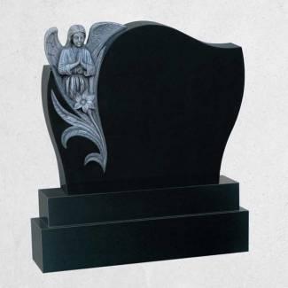 002: Praying Angel Antique Finish Black