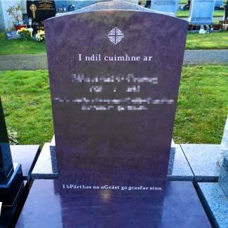 bespoke headstone 1